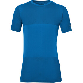 asics fuzeX Seamless SS Shirt Men directoire blue